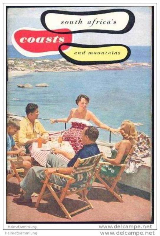 South Africa coasts and mountains 60er Jahre - 40 Seiten mit 30 Abbildungen - in englischer Sprache