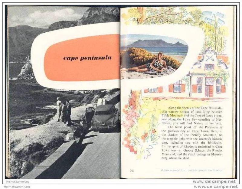 South Africa coasts and mountains 60er Jahre - 40 Seiten mit 30 Abbildungen - in englischer Sprache 1