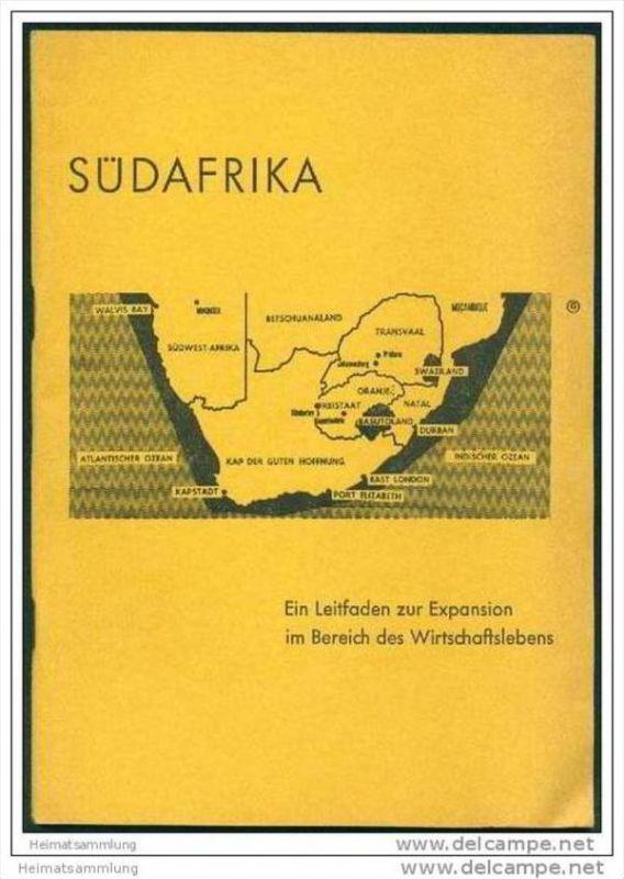 Südafrika - Ein Leitfaden zur Expansion im Bereich des Wirtschaftslebens 1960 - 52 Seiten Wirtschaftsdaten 0