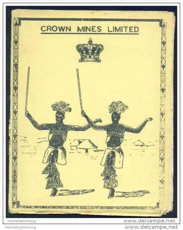 Crown mines Limited - Programmheft vom 6. 7. 58 - Inter Tribal Dance - these are staged primarily for the recreation 0