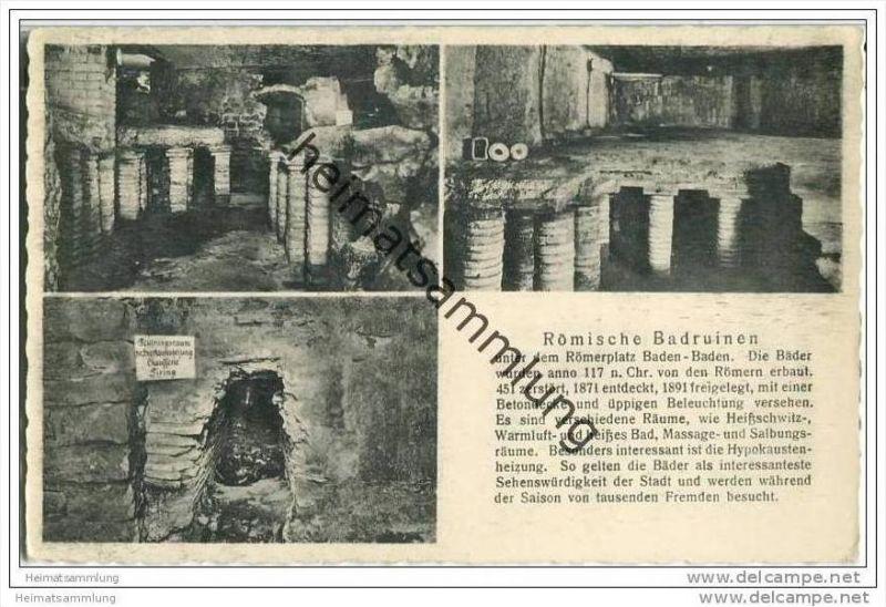 Baden-Baden - Römische Badruinen 0