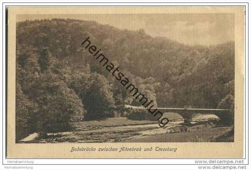 Bodebrücke zwischen Altenbrak und Treseburg 0