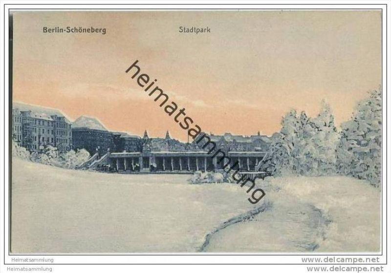 Berlin-Schöneberg - Stadtpark - AK 30er Jahre 0