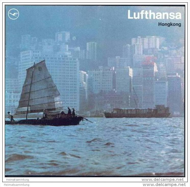 Hongkong 1969 - 16 Seiten mit 9 Abbildungen - Deutsche Lufthansa AG