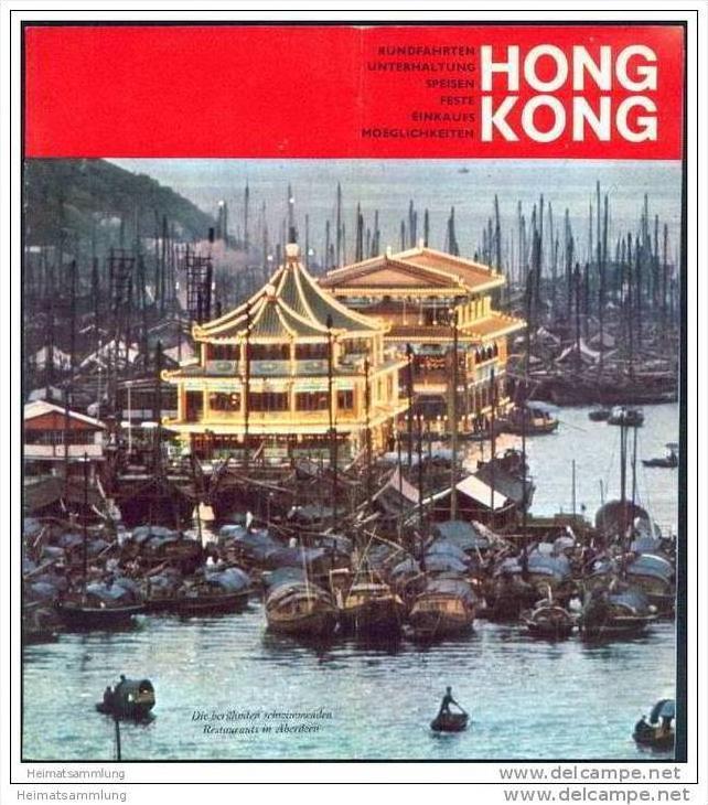 Hongkong 1969 - 8 Seiten mit 15 Abbildungen 0