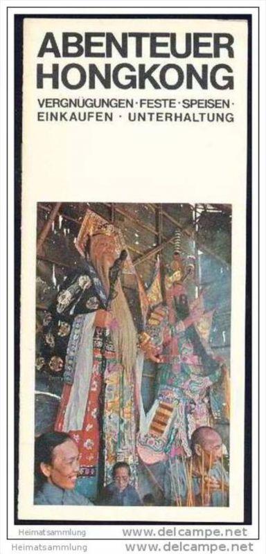 Abenteuer Hongkong 1967 - 12 Seiten mit 11 Abbildungen