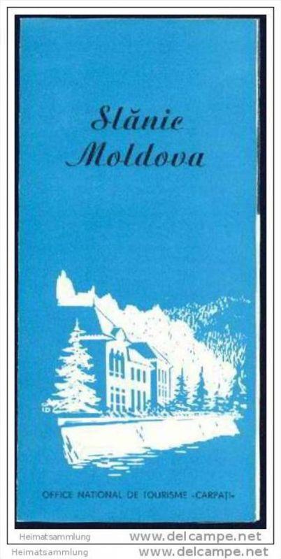 Roumanie - Slanic-Moldova 60er Jahre - Faltblatt mit 4 Abbildungen