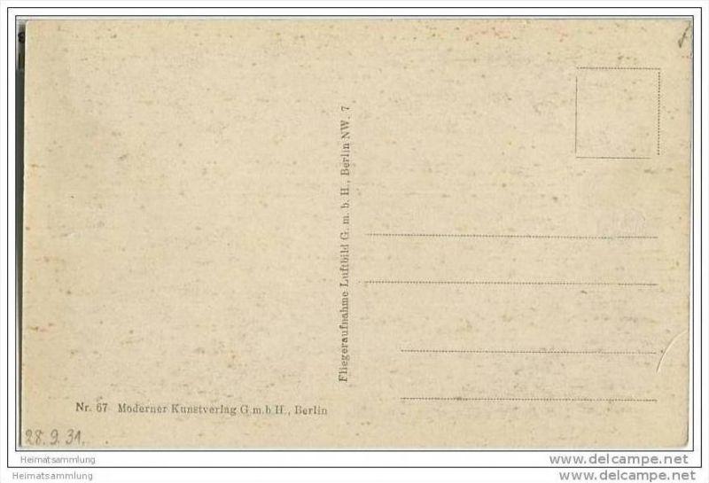 Berlin-Grunewald - Hundekehle - Fliegeraufnahme ca. 1930 1