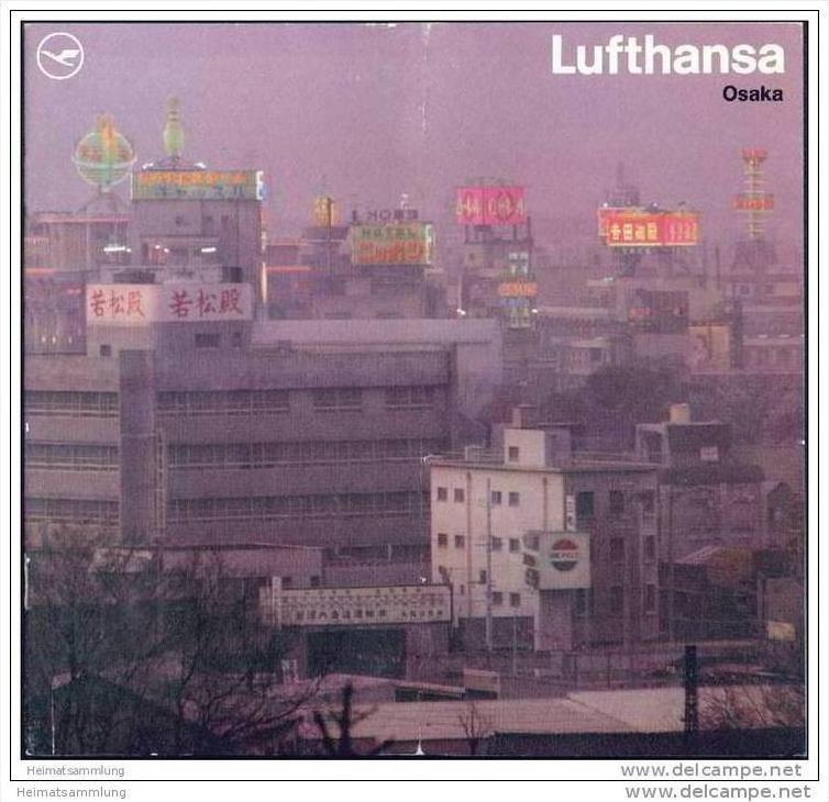 Japan - Osaka 1970 - 16 Seiten mit 21 Abbildungen - Lufthansa-Ausgabe 0
