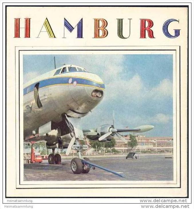 Hamburg 1958 - 12 Seiten mit 15 Abbildungen - leichte Gebrauchsspuren 0