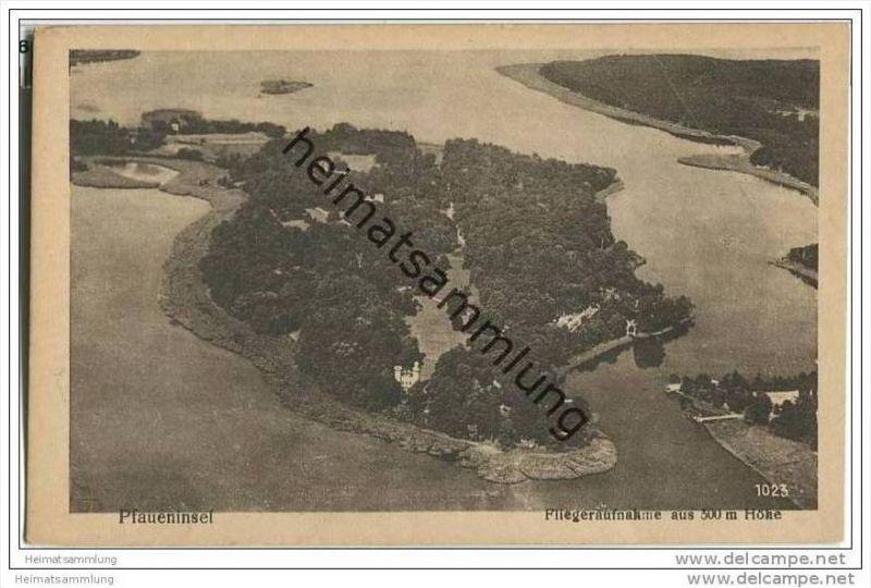 Berlin-Grunewald - Pfaueninsel - Fliegeraufnahme 30er Jahre 0
