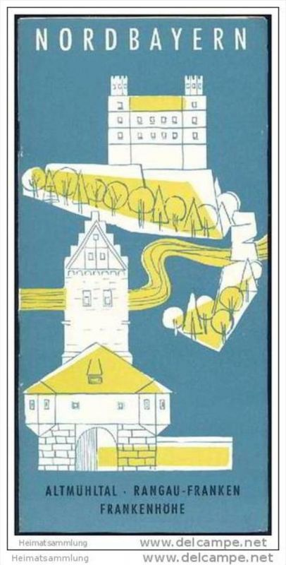 Nordbayern 1958 - 16 Seiten mit 12 Abbildungen
