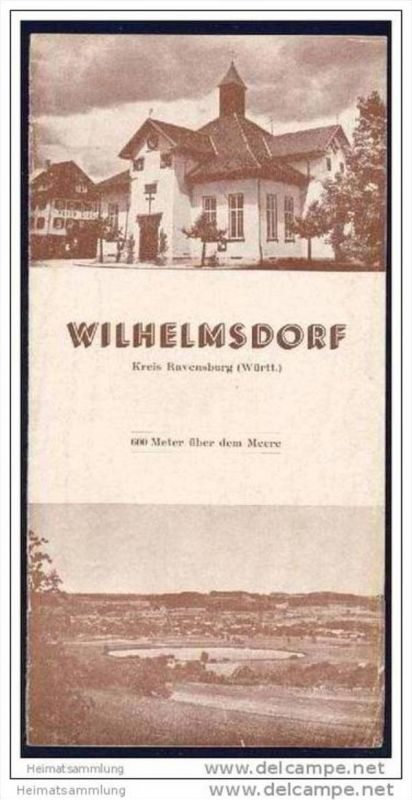 Wilhelmsdorf - 12 Seiten mit 4 Abbildungen 0