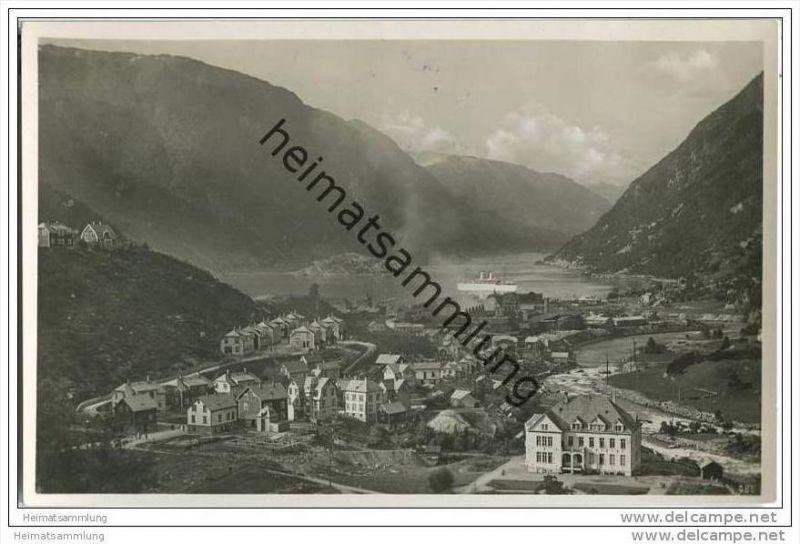 Odda - Hardangerfjord - Foto-AK 0