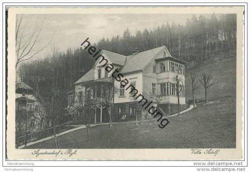 Jagniatkow - Agnetendorf - Villa Adolf