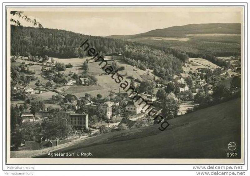 Jagniatkow - Agnetendorf - Hochgebirge - Foto-AK 0
