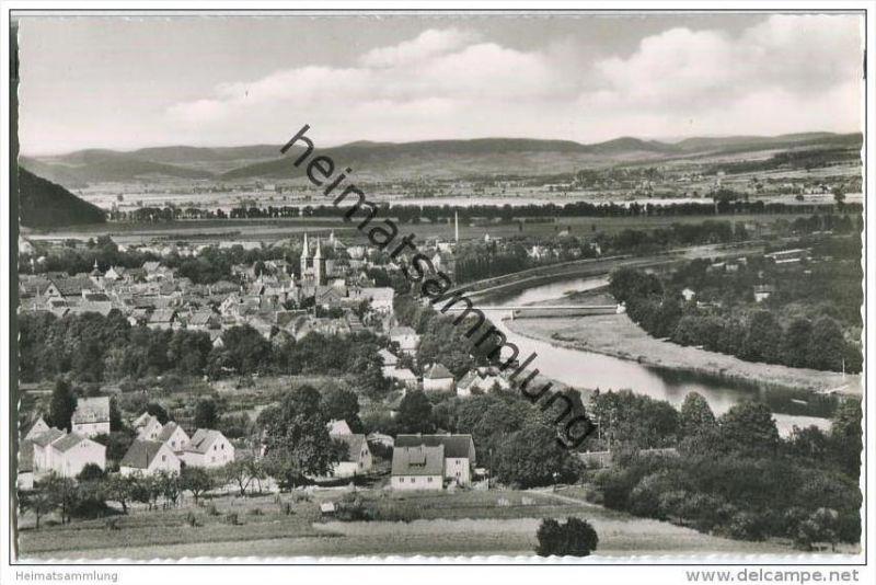 Höxter - Blick von der Wilhelmshöhe - Foto-AK 0