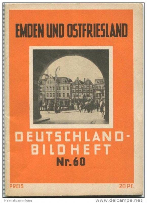 Nr. 60 Deutschland-Bildheft - Emden und Ostfriesland