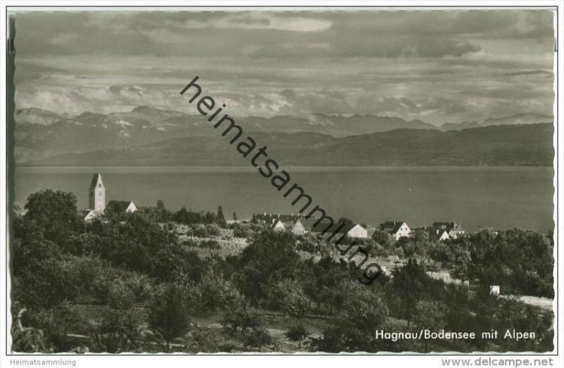 Hagnau am Bodensee - Foto-AK 0