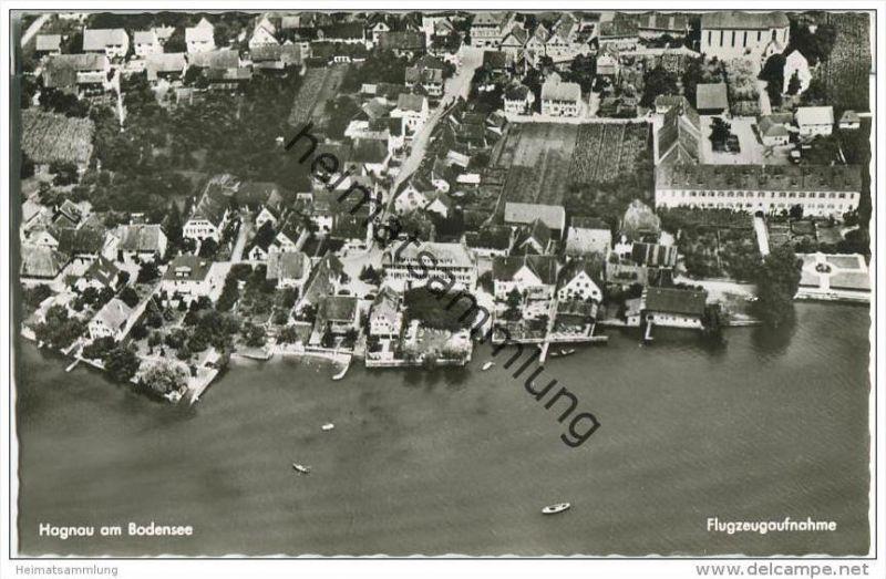 Hagnau am Bodensee - Flugzeugaufnahme - Foto-AK 0