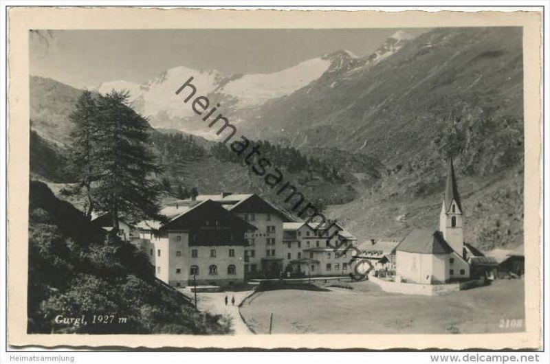 Gurgl - Foto-AK - Verlag Much Innsbruck 40er Jahre 0