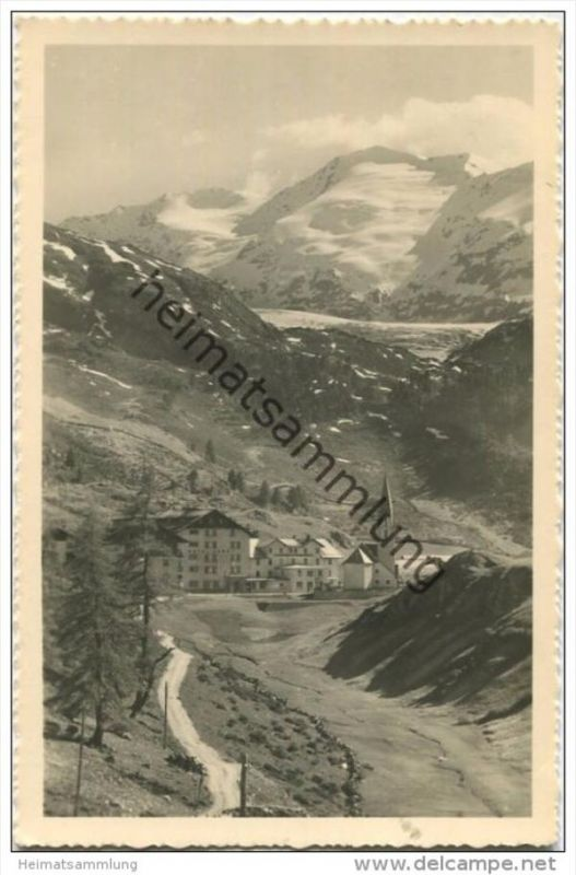 Ober-Gurgl - Das höchstgelegene Kirchdorf in Tirol - Foto-AK - Verlag Lohmann & Aretz Ober-Gurgl gel. 1943 0