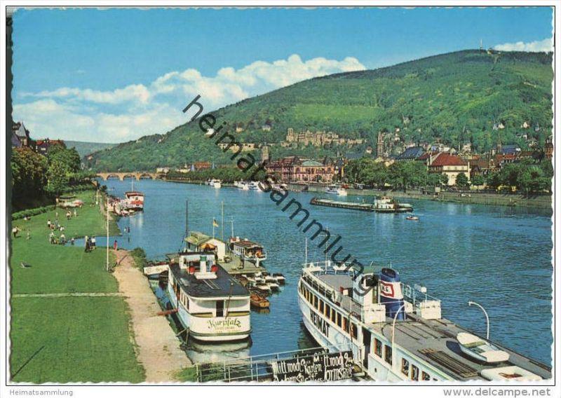 Heidelberg - Neckar - Fahrgastschiff Kurpfalz 0