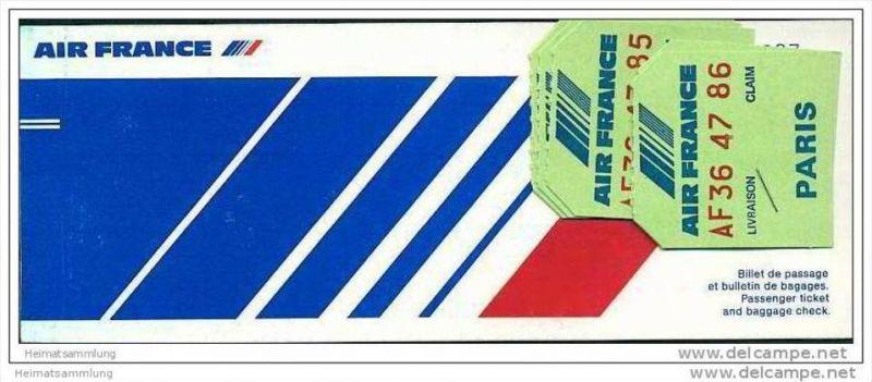 Air France 1982 - Paris Los Angeles Paris 0