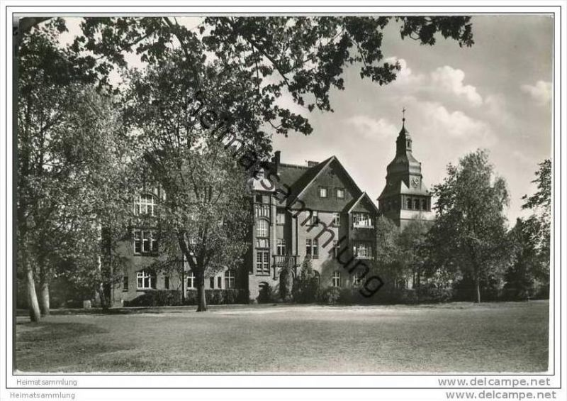 Berlin-Spandau - Ev. Johannesstift - Lutherhaus - Foto-AK