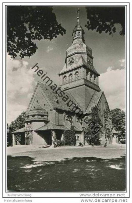 Berlin-Spandau - Ev. Johannesstift - Kirche - Foto-AK