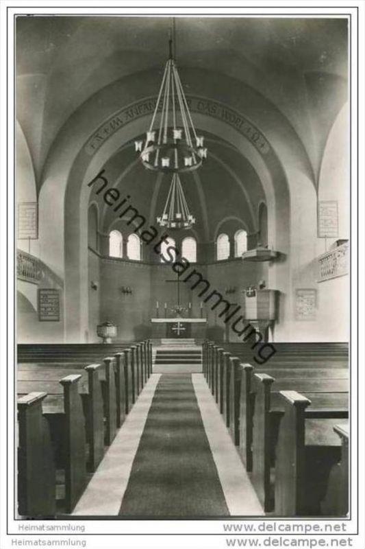 Berlin-Spandau - Ev. Johannesstift - Kirche - Foto-AK 0