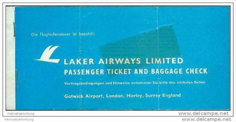 Laker Airways Limited - Berlin Ibiza Berlin 0