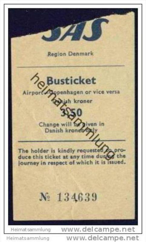 SAS Region Denmark - Busticket Airport-Copenhagen or vice versa 0