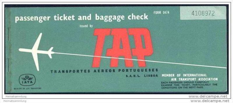 TAP - Transportes Aereos Portugueses 1967 0