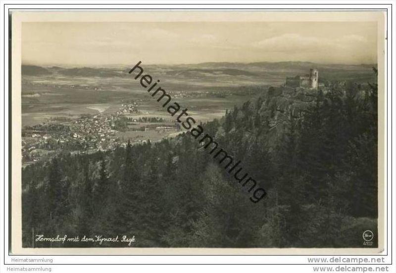Hermsdorf - Kynast - Foto-AK 30er Jahre 0