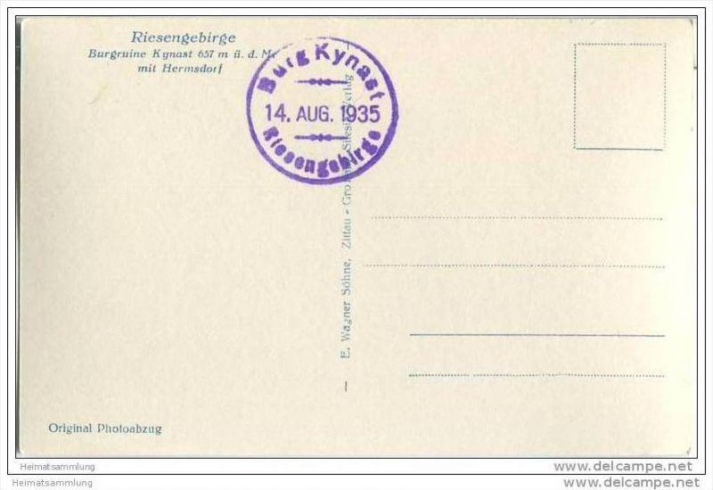 Hermsdorf - Kynast - Foto-AK 30er Jahre 1