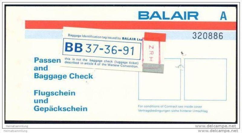 Balair - Zurich Rio Zurich