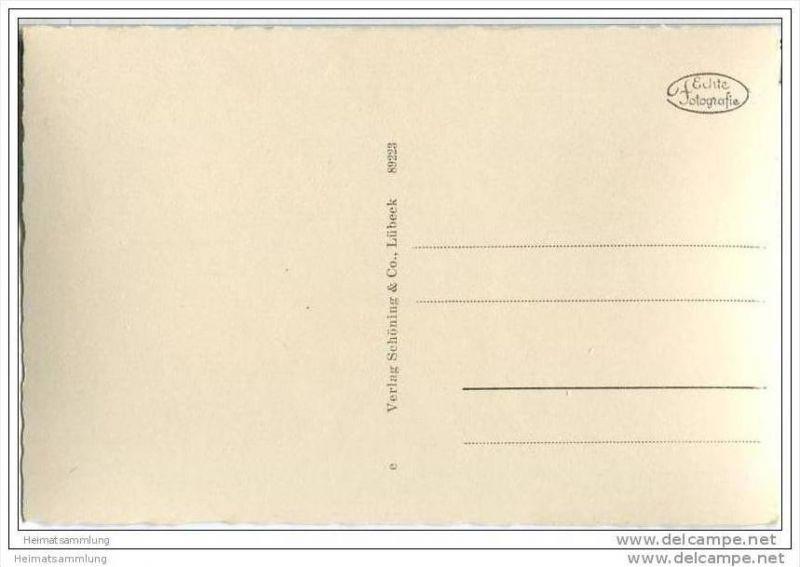Kühlungsborn - Karpfenteich - Foto-AK 30er Jahre 1