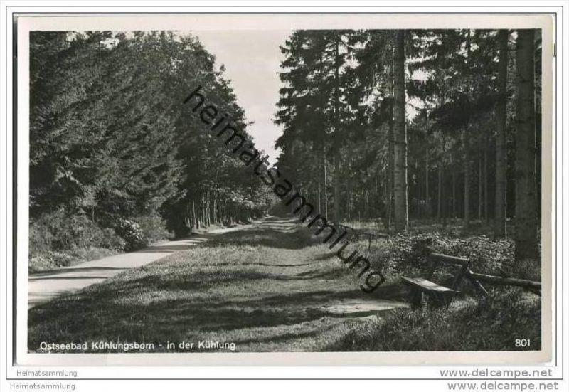 Kühlungsborn - Kühlung - Foto-AK 30er Jahre