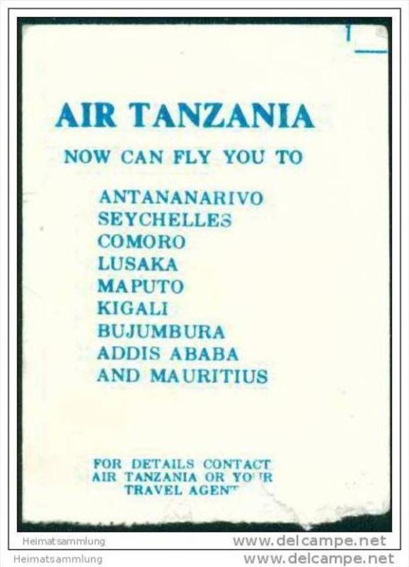Boarding Pass - Air Tanzania Corporation 1