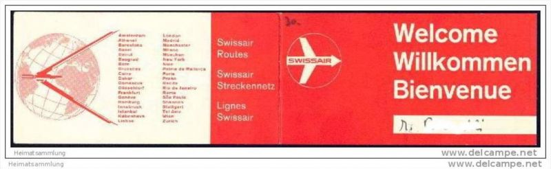 Boarding Pass - Swissair 0