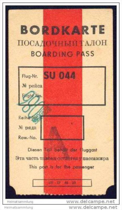 Boarding Pass - Transit - JAT Yugoslav Airlines 0