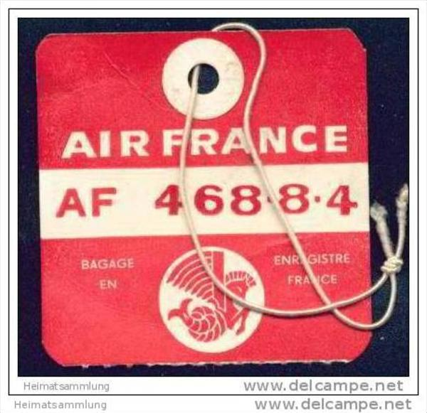 Baggage strap tag - Air France