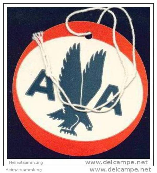 Baggage strap tag - AA American Airlines 0