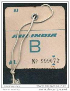 Baggage strap tag - Air India