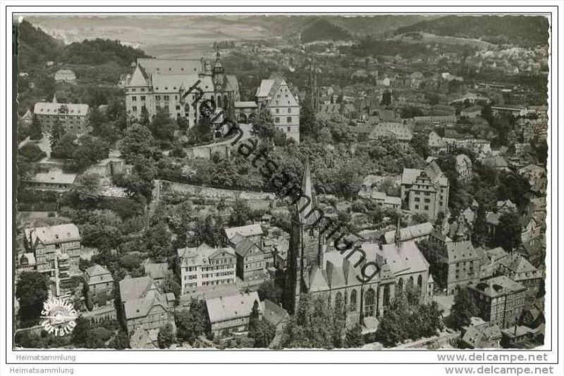 Marburg - Luftaufnahme - Foto-AK 0