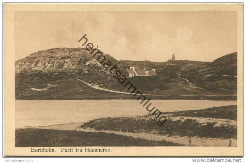 Bornholm - Parti fra Hammerso - Verlag Knud Jorgensen Ronne ca. 1914 0