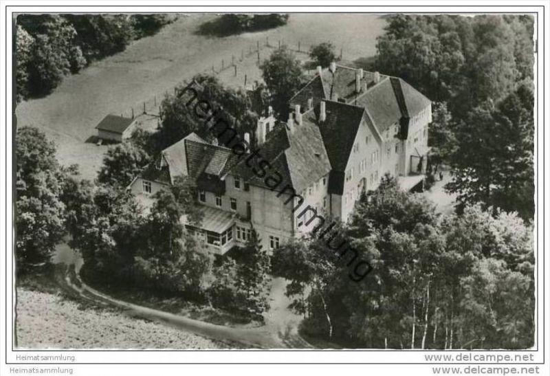 Walsrode - DAG Ferienheim - Luftaufnahme - Foto-AK 0