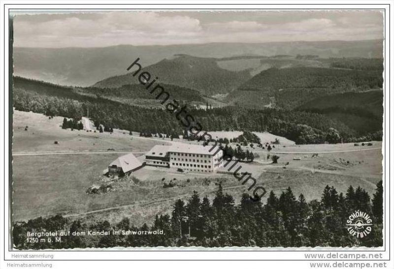 Kandel - Berghotel - Luftaufnahme - Foto-AK 0
