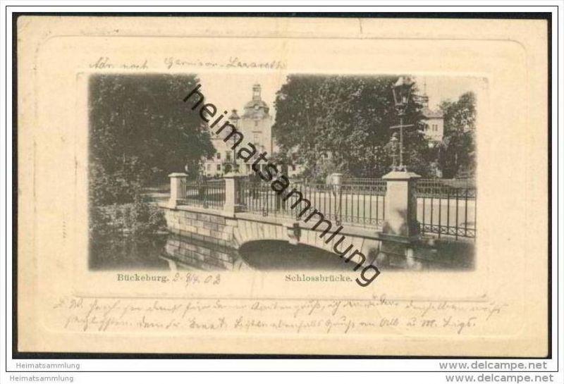 Bückeburg - Schlossbrücke